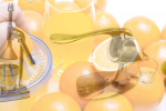 History of juicers and blenders two old juicers orange juice